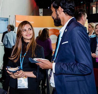 Socialising at Symposium 2018